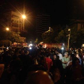متظاهرو الحراك المدني قطعوا الطريق أمام وزارة الداخلية