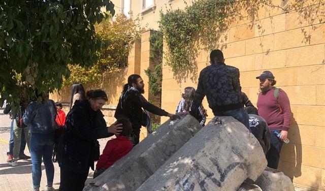 إحتجاجاتٌ أمام المحكمة العسكرية