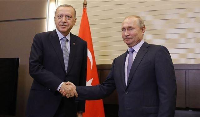 تفاصيل الإتصال بين بوتين وأردوغان