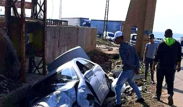 """حادث سير في عكار يلغي مهمة لفريق """"الصحة"""""""