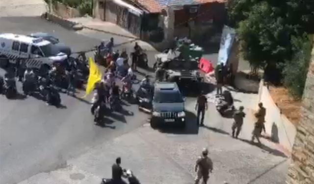 فيديو يُظهر لحظة وقوع الإشكال المسلح في خلدة