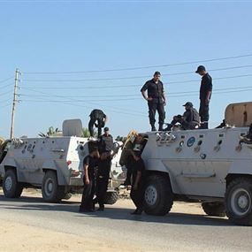 ارتفاع عدد قتلى الشرطة في هجوم الواحات بمصر