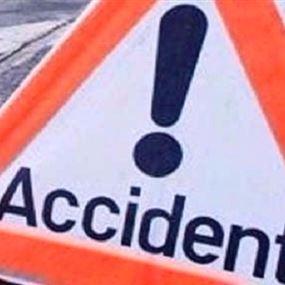 مقتل شخص واصابة اخرين في حادث صدم في الكورة