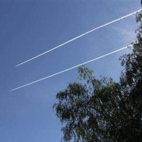 تحليق طائرة اسرائيلية فوق قرى العرقوب
