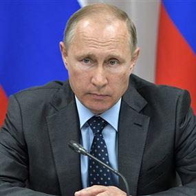 بوتين: على الشعب السوري تحديد مستقبله