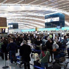 مطار هيثرو البريطاني لا يعمل بالشكل المعتاد