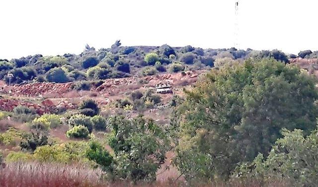 بالفيديو: 3 دبابات إسرائيلية خرقت السياج التقني