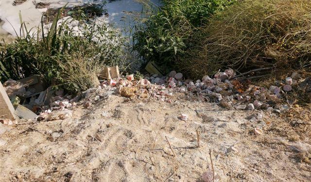 بالفيديو- شبكة KFC للمأكولات ترمي مخلفاتها في نهر الليطاني.. وعلوية: سنحاسبها!