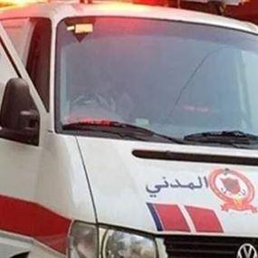 إصابة 6 أشخاص بحادث سير على أوتوستراد الزهراني