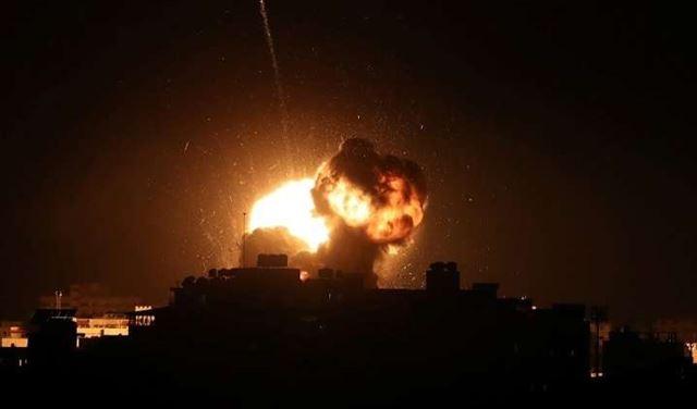 غارات إسرئيلية على غزة