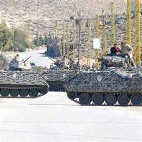 حزام ناسف بين مركزي الأمن العام والجيش في عرسال