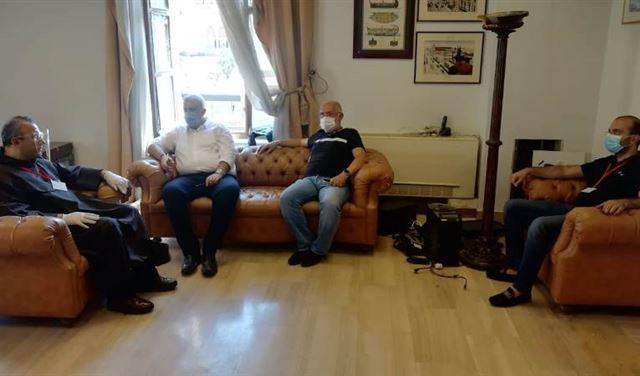 رئيس كريتاس يلتقي محافظ بيروت.