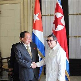 كوبا وكوريا الشمالية ترفضان سياسة العقوبات الأميركية