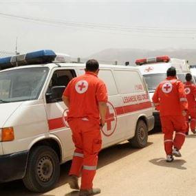 الصليب الأحمر ينقل نازحين إلى عرسال