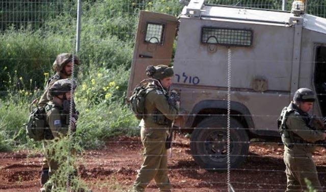 الجيش الإسرائيلي يُطلق قنبلة دخانية مقابل ميس الجبل