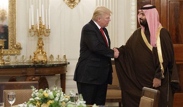 ترمب : نحتاج إلى أموال السعودية