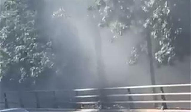 إنفجار سيارة في بيروت بعد حادث... (فيديو)