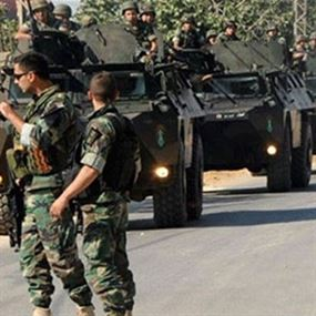 الجيش اللبناني يحرر سورياً خطف في تعلباية