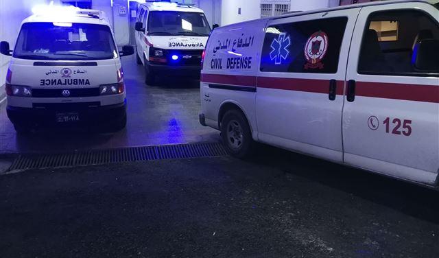 بالصور: حادث سير في الشبريحا - صور... وسقوط 6 جرحى