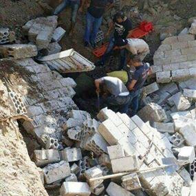 مقتل مواطن بانهيار حائط في الشهابية