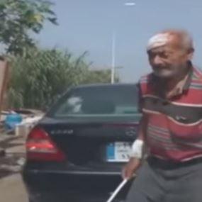 في لبنان..ثمانيني يتعرض للضرب!