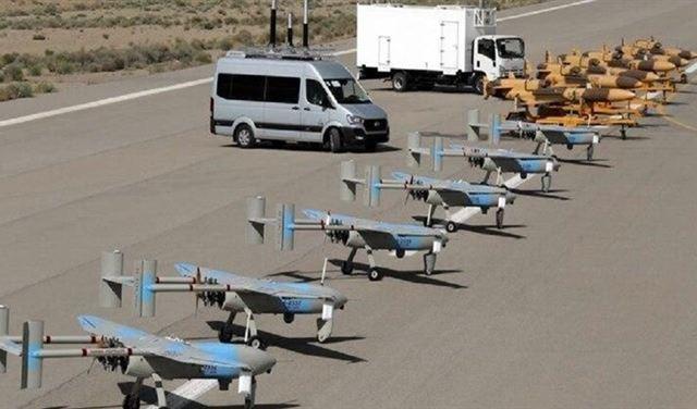 الحرس الثوري يتسلح بـ 188 طائرة مسيرة جديدة