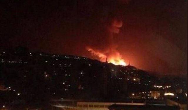 مصدر عسكري في سوريا: أنظمة الدفاع الجوي تتصدى لعدوان صاروخي شنته إسرائيل على مطار دمشق الدولي EZXEJVZELV