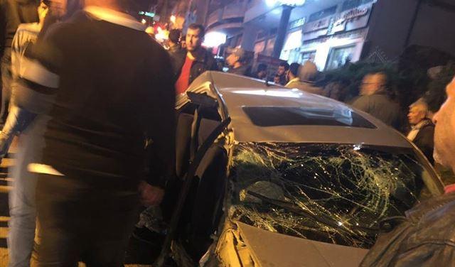 بالصورة: جريحان بحادث سير في الضنية