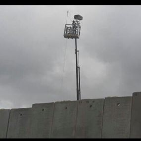 بالصورة: منطاد اسرائيلي في اجواء العباسية