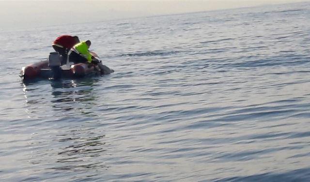 انتشال جثّة من البحر قبالة برج الفيدار- جبيل