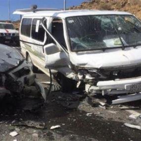 مقتل 15 شخصاً بحادث مروري في مصر