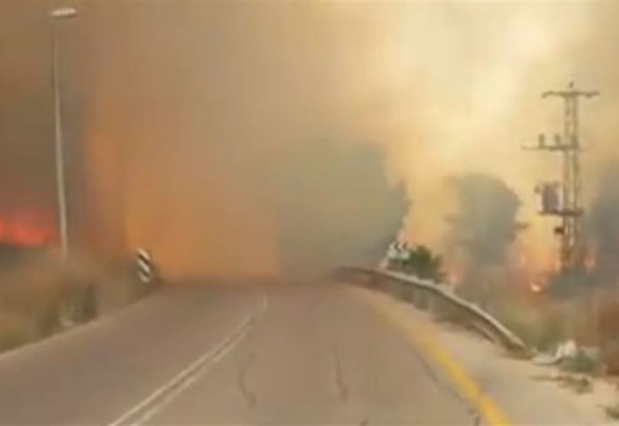 بالفيديو لبنان يواجه الحرائق وإرشادات من الدفاع المدني