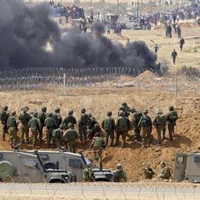 الجيش الإسرائيلي يحذر الغزيين من الاقتراب من الجدار