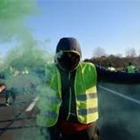 """مصرع أحد متظاهري """"السترات الصفراء"""" صدماً"""