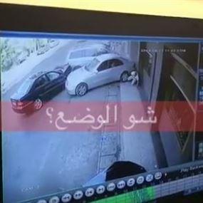 بالفيديو: نجاة شخص بأعجوبة من حادث سير مروّع