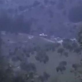 """بالفيديو..  تدمير آلية للجيش التركي وفصائل """"الجيش الحر"""""""