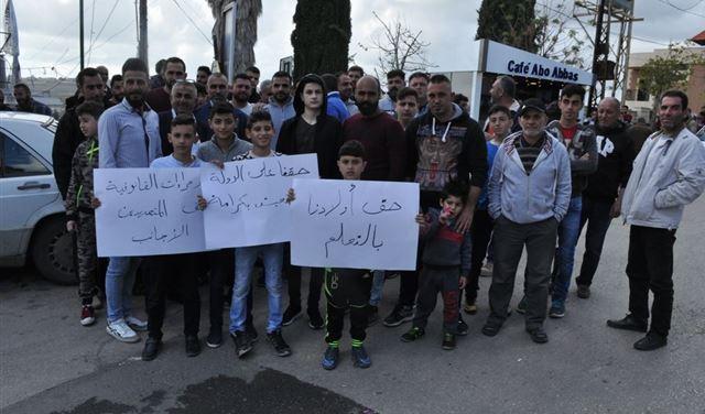 أهالي عبا اعتصموا: لتنظيم اليد العاملة الأجنبية