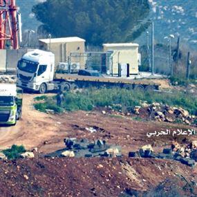 """بالصور: إسرائيل تعزز قوات """"جفعاتي"""" قرب حدود لبنان"""