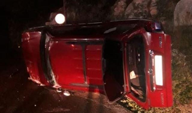 بالصور: 5جرحى اثر حادث سير مروع في البريج - جبيل