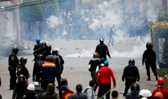 23 قتيلاً في احتجاجات بوليفيا