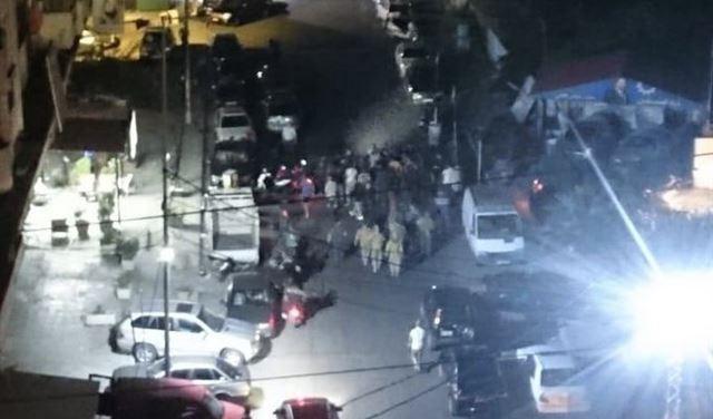بالصورة: إشتباك مسلّح في الميناء بسبب صورة للحريري!