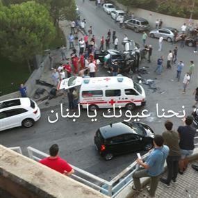 بالفيديو: تدهور سيارة يحطّم عدداً من السيارات في الرابية