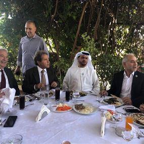 الشامسي من راسنحاش: الامارات لم تزرع الا الخير في لبنان