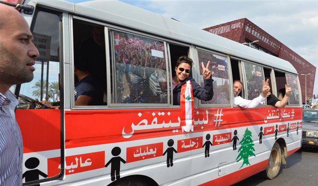 """""""بوسطة الثورة"""": لهذا السبب قررنا اختتام الجولة في صيدا"""