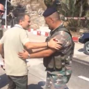 بالصور والفيديو.. الوزير باسيل يفاجىء الجيش في عيده ال ٧٠