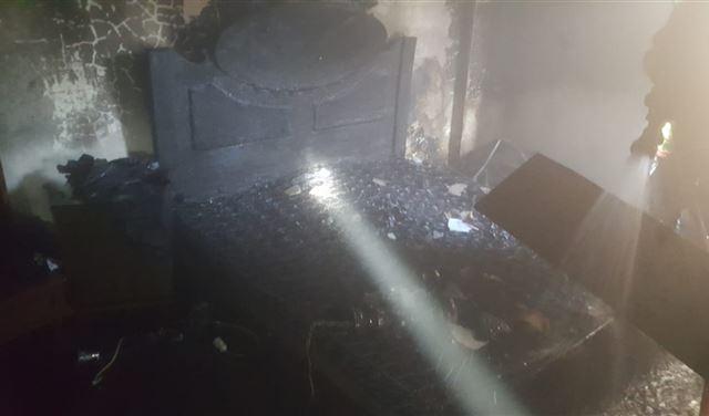 حريقٌ داخل منزل في صيدا وإصابة صاحبه!
