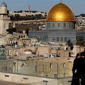 نقل السفارة الأميركية في إسرائيل إلى القدس  في 14 أيار