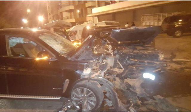 بالصور:6 جرحى اثر حادث سير في حراجل