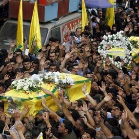 حزب الله ينعي 7 من عناصره سقطوا في معارك نبل والزهراء