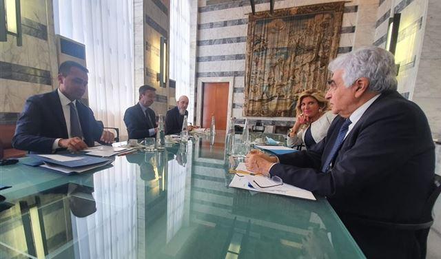 ايطاليا تلتزم بدعم لبنان